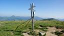 Zvolen (1402,5 m.n.m.) križovatka na vrchole