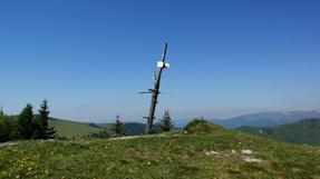 Malý Zvolen (1372,4 m.n.m.) vrchol